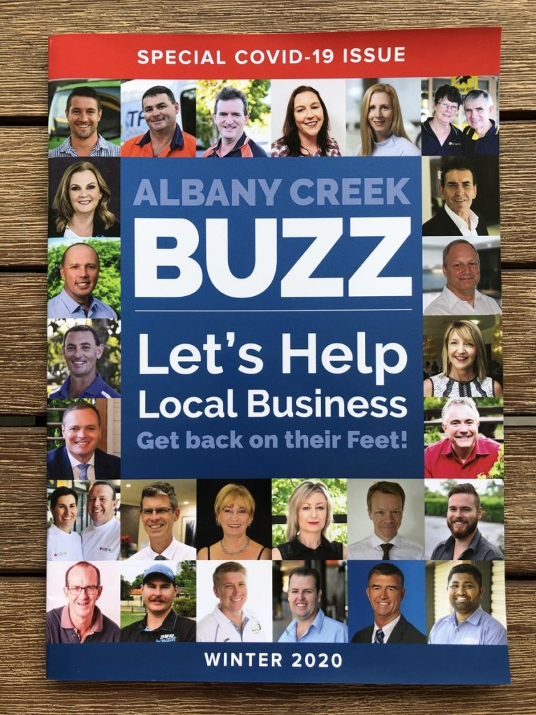 Buzz Helps Local Business